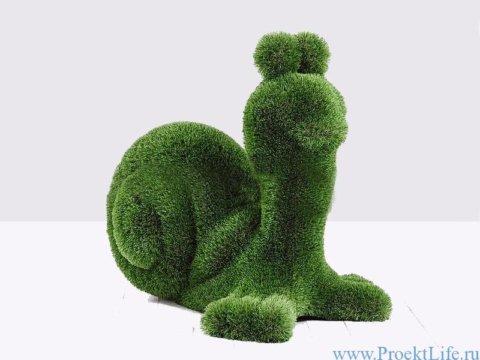 Садовая скульптура - Улитка