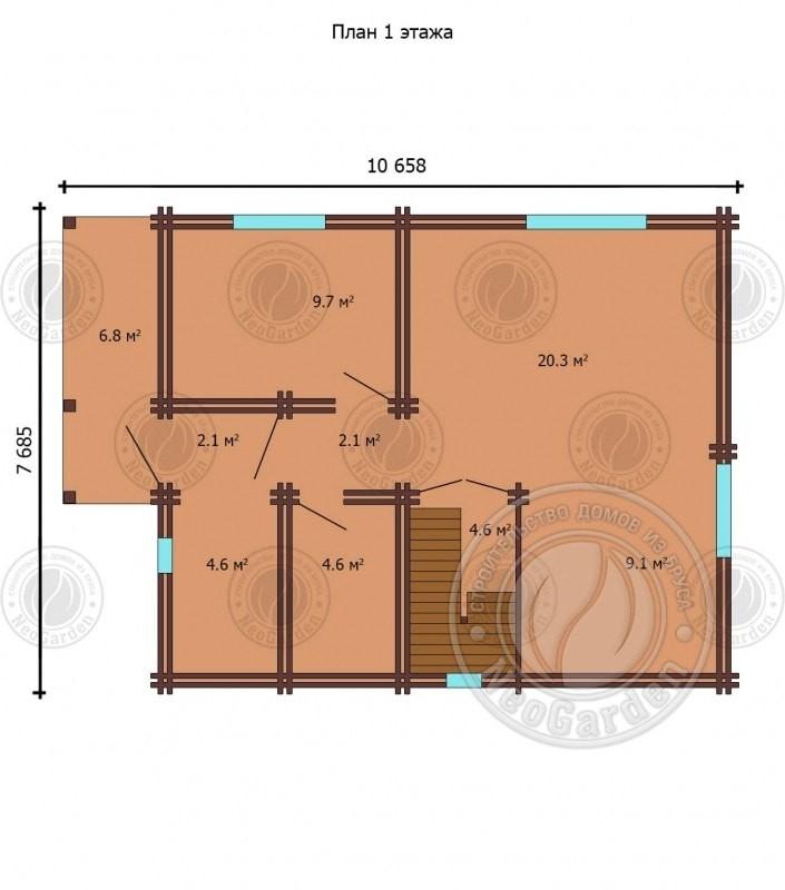 план дома 3
