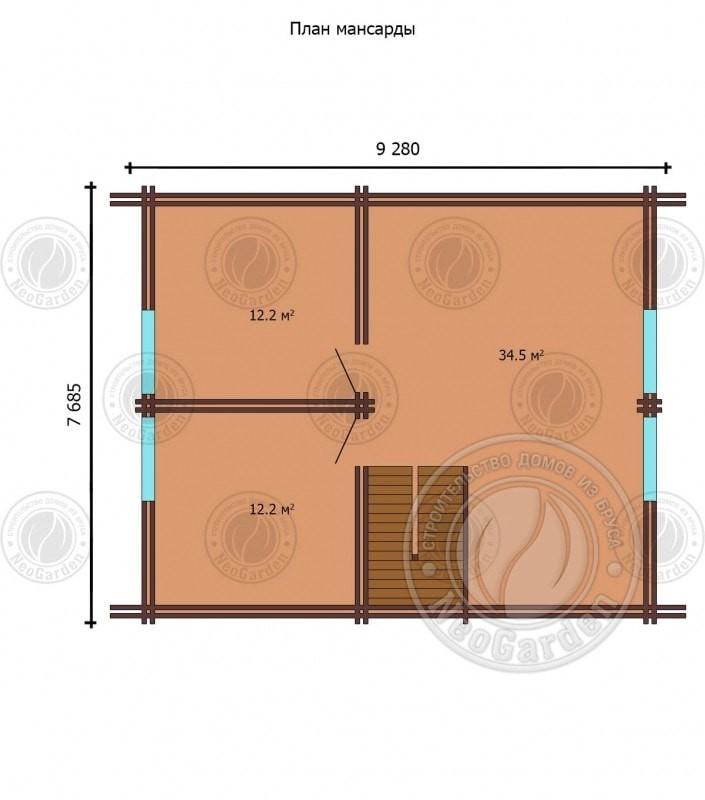 план дома 2