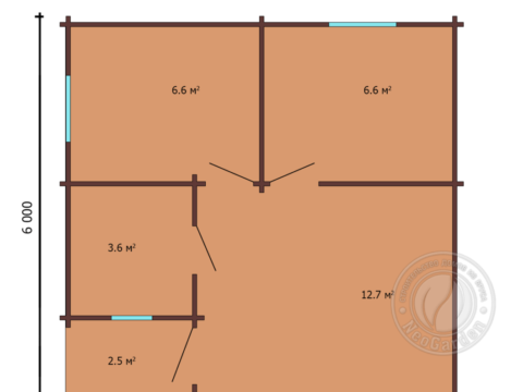план дома 4
