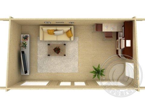 Садовый домик планировка