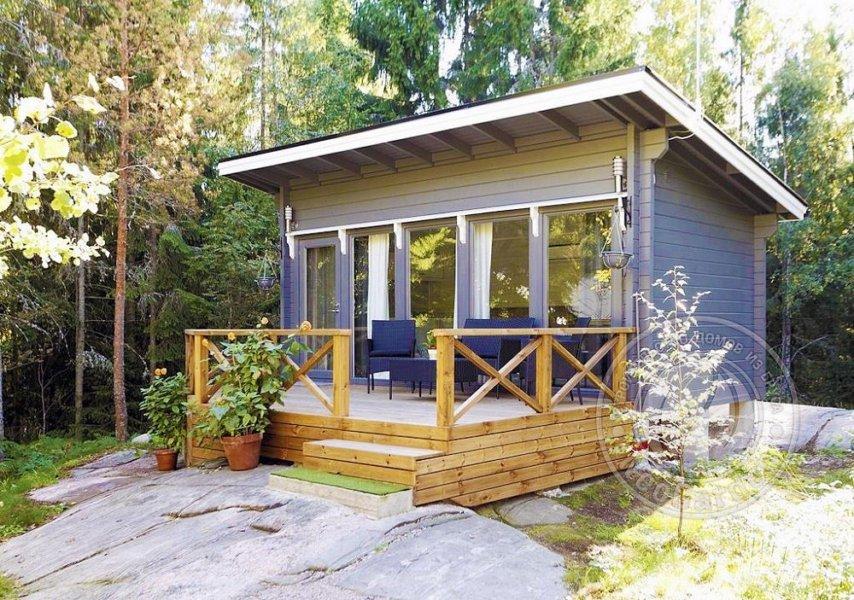 Садовый домик Монте из бруса