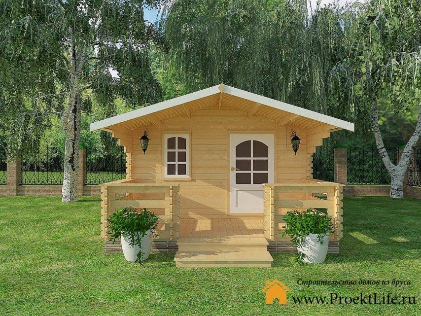Садовый домик из бруса купить