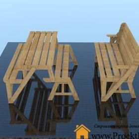 Стол для дачи трансформер