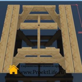 стол для дачи - Стол для дачи своими руками - 10 min 1 280x280