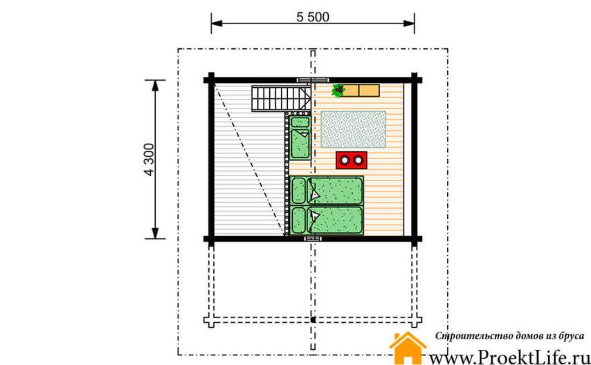 Баня бриг план 2 этажа
