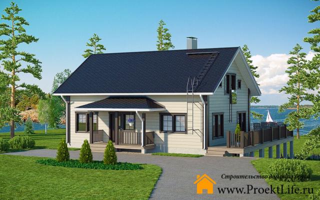 Купить готовый дом под ключ в Москве