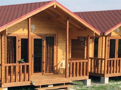 Гостевой дом из мини бруса
