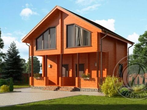 Дом из бруса на две семьи