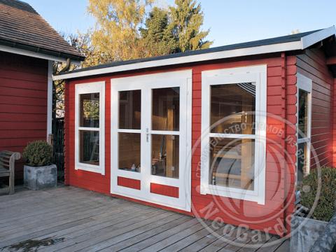 Садовый домик из бруса 45 мм