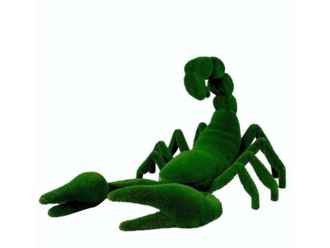 """Топиар """"Скорпион"""" Садовая скульптура из искусственного топиари"""