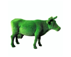 "Топиар ""Корова на лугу"""