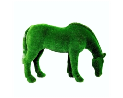 "Топиар ""Лошадь на лугу"""