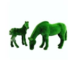 "Топиар ""Лошадь и жеребенок налугу"""