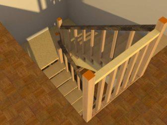 лестница-угловая