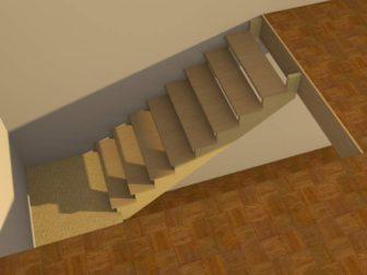 Лестница своими руками для двухэтажного дома