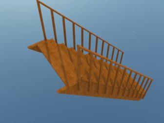 Лестница для дома своими руками