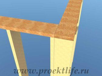 Как построить дом-верхняя обвязка каркасного дома