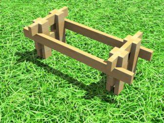 стол для сада - Стол для сада своими руками -  стол своими руками 336x252