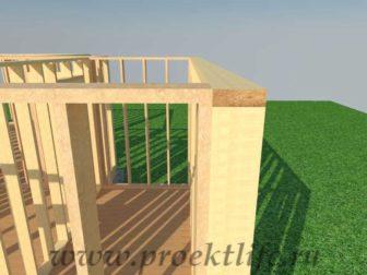 Стены каркасного дома|Как построить деревянный каркасный дом своими силами
