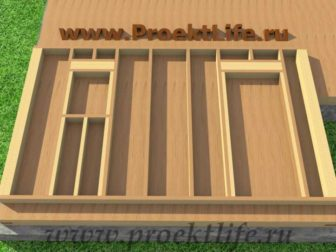 Стены каркасного дома|Как построить дом своими руками