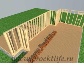 Стены каркасного дома|Как построить каркасный дом своими руками