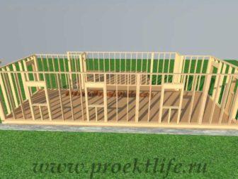Стены каркасного дома|Как построить деревянный каркасный дом