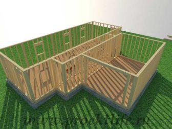 Стены каркасного дома|Как построить деревянный каркасный дом по канадской технологии своими силами