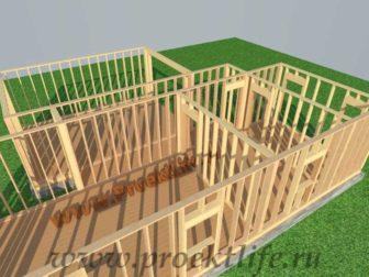 Стены каркасного дома|Как построить деревянный каркасный дом по финской технологии своими руками