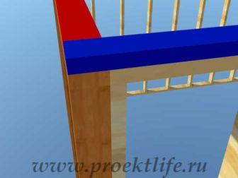 Как построить дом-верхняя обвязка