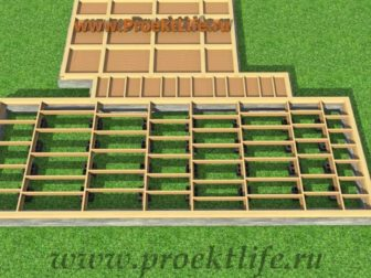 Нижняя обвязка каркасного дома строим сами