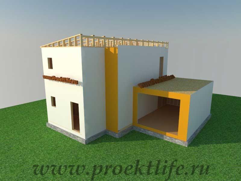 Как построить дом - второй этаж каркасного дома