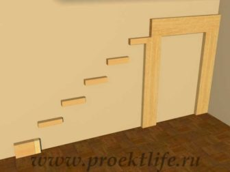 лестница на второй этаж в частном доме на даче своими руками фото косоуры