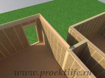 Перекрытие второго этажа|Как построить дом своими руками