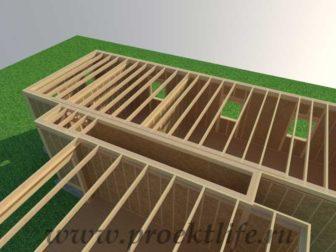 Перекрытие второго этажа|Как построить каркасный дом междуэтажное перекрытие