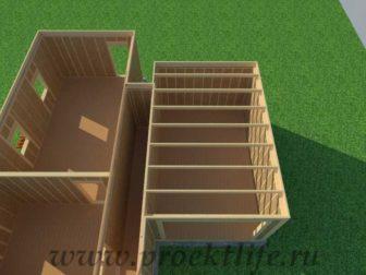 Перекрытие второго этажа|Как построить дом самому