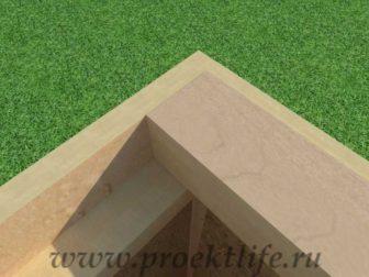 Перекрытие второго этажа|Как построить дом лаги