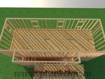 Как построить дом - каркасные стены второго этажа каркасного дома