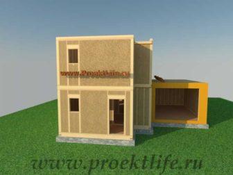 Как построить дом - утепление второго этажа каркасного дома