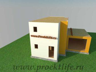 Как построить дом - отделка фасада второго этажа каркасного дома