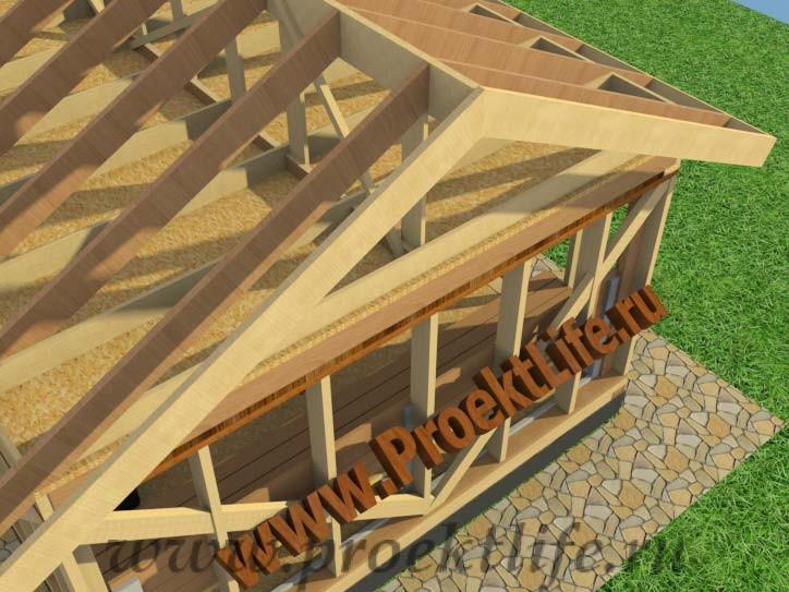 Обрешётка крыши своими руками фото 394