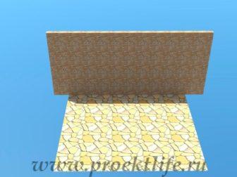 Навес с крышей из поликарбоната фундамент