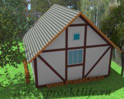 Строим деревянный дом для дачи