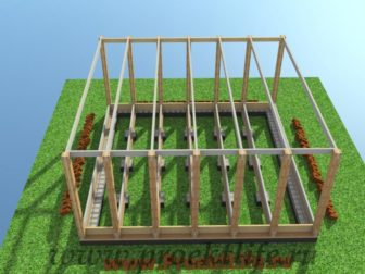 технология строительства каркасного дома - Технология строительства каркасного дома -  конструктор каркас 336x252