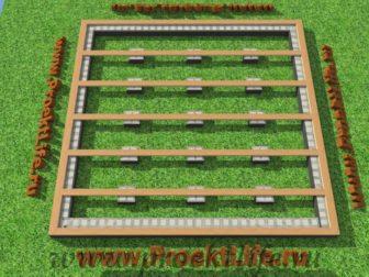 технология строительства каркасного дома - Технология строительства каркасного дома -  конструктор лежни 336x252