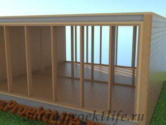 технология строительства каркасного дома - Технология строительства каркасного дома -  конструктор перегородки 336x252