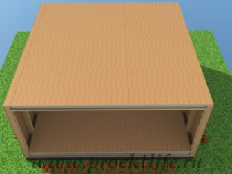 технология строительства каркасного дома перекрытие дома