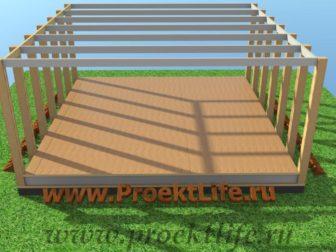 технология строительства каркасного дома - Технология строительства каркасного дома -  конструктор пол 336x252