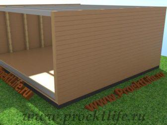 технология строительства каркасного дома - Технология строительства каркасного дома -  конструктор фасад 336x252