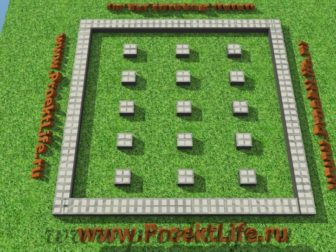технология строительства каркасного дома фундамент